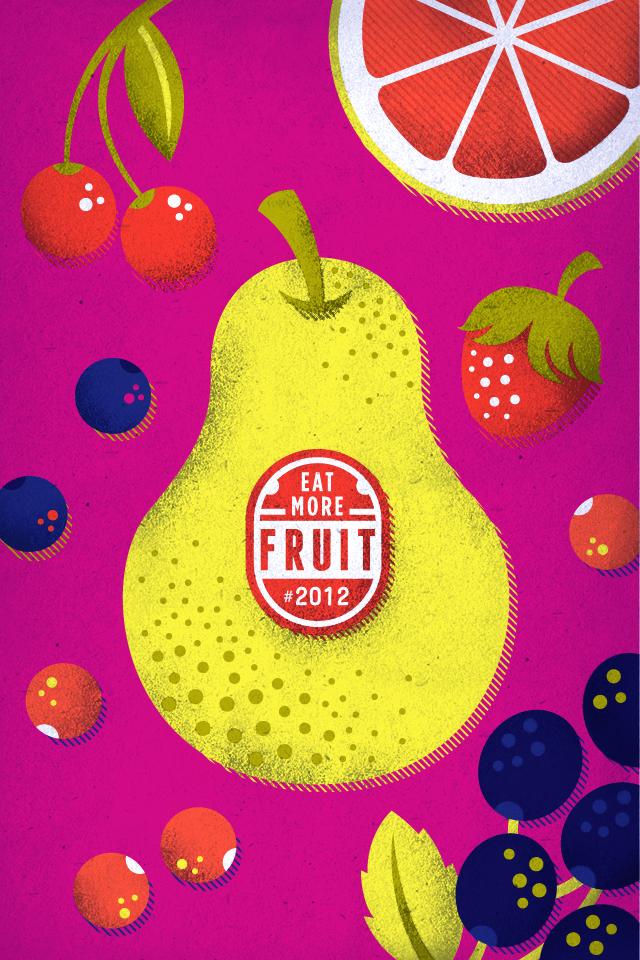 Eat More Fruit Illustration | Valerie Jar