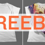 FREEBIE ALERT! Introducing the Ladies Flat T-Shirt Mockup Templates Pack & Free Sample PSD