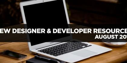 new-designer-and-developer-resources-august-2014