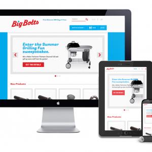 Earnest Machine - Big Bolt Responsive Website Design
