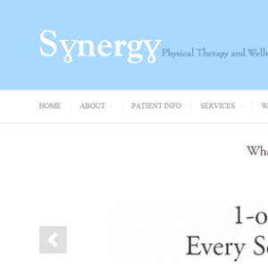 Synergy Physical Therapy Responsive Website Design