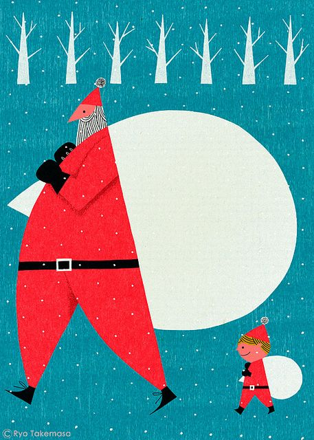 holiday illustration inspiration