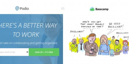 Basecamp vs Podio - The Great Project Management Software Debate