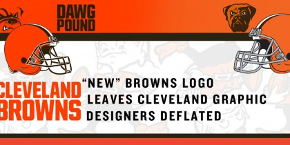 """New"" Browns Logo Leaves Cleveland Graphic Designers Deflated"