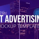 Introducing our Night Advertising Mockup Templates