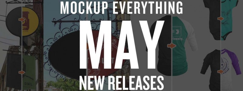 Your Favorite Mockup App Back: Mockup Everything's May Templates are Here!