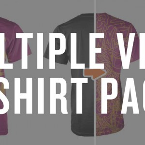 front side and back view mockup templates