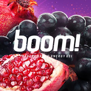 Boom Energy Gel Branding Hero - Cleveland logo design by Go Media