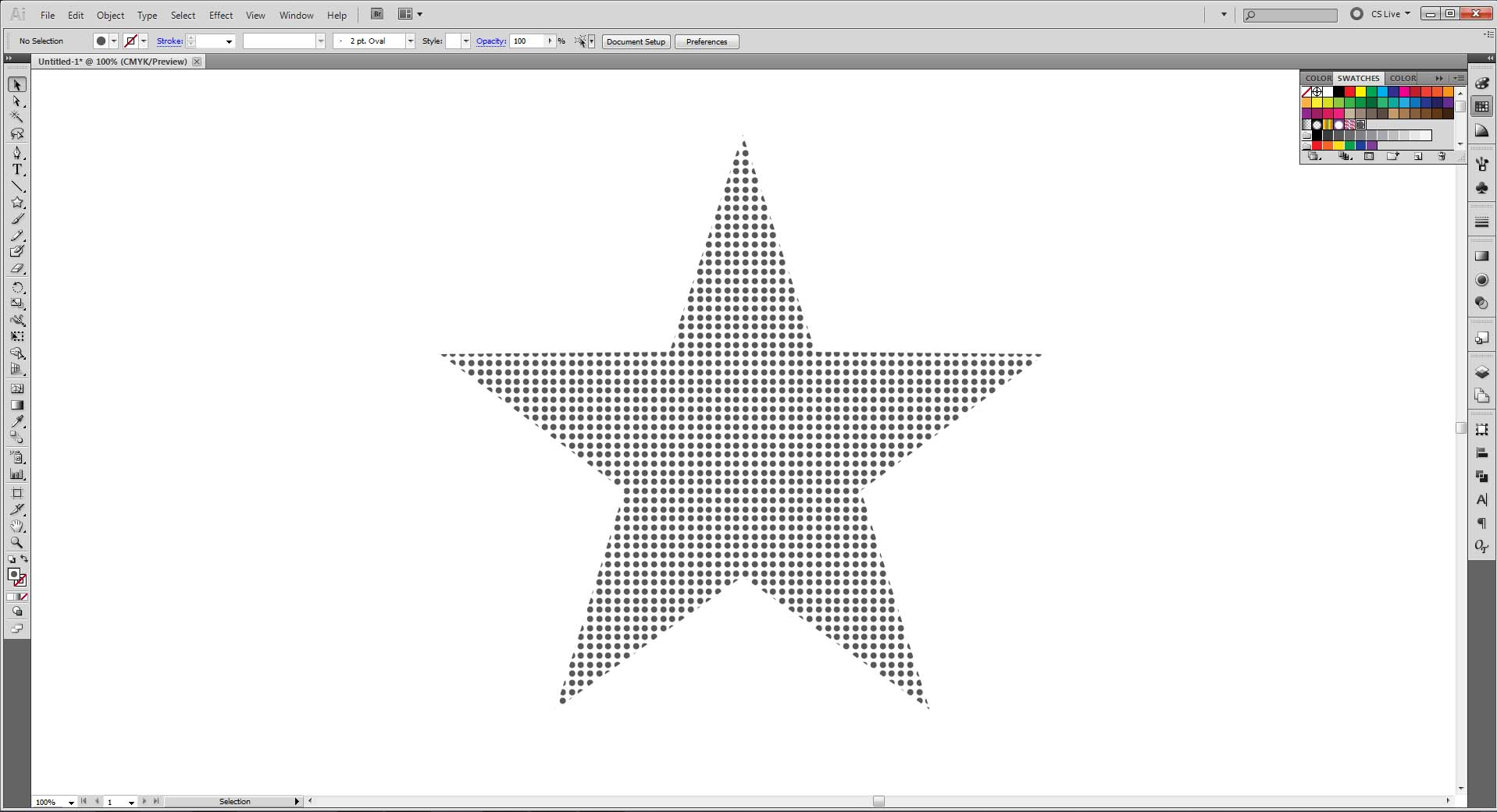 how to make patterns in illustrator lines dots