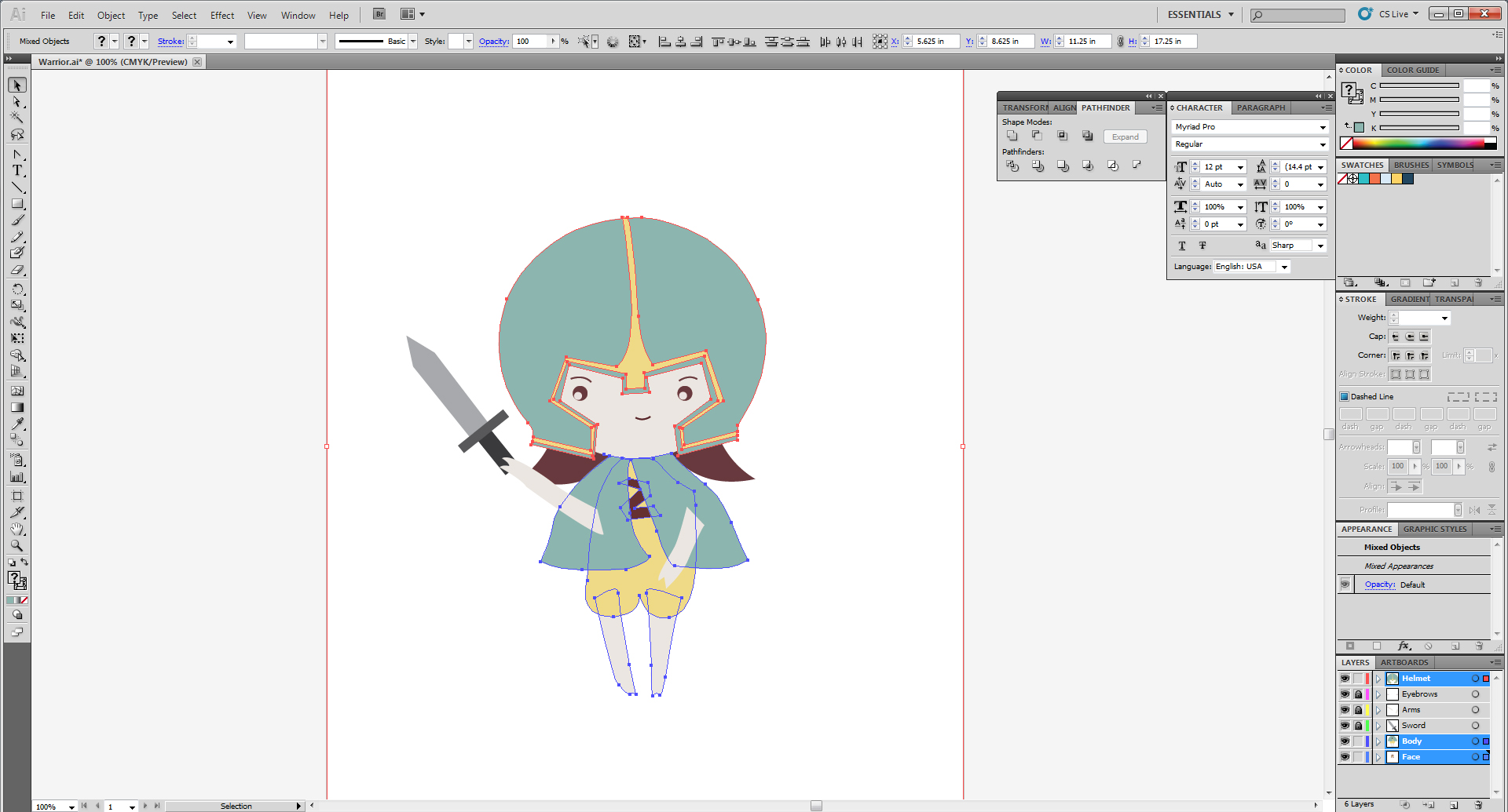 Copying All Of The Unanimated Layers From My Illustrator File
