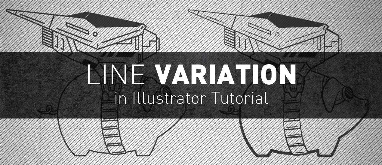 Line Drawing Illustrator Tutorial : Line variation in illustrator tutorial go media