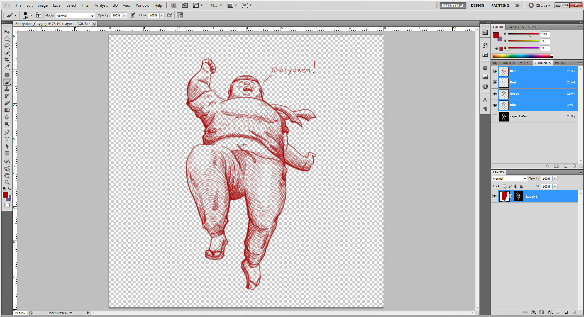 Color lineart in photoshop - Color Linework In Photoshop Design Tip Of The Week