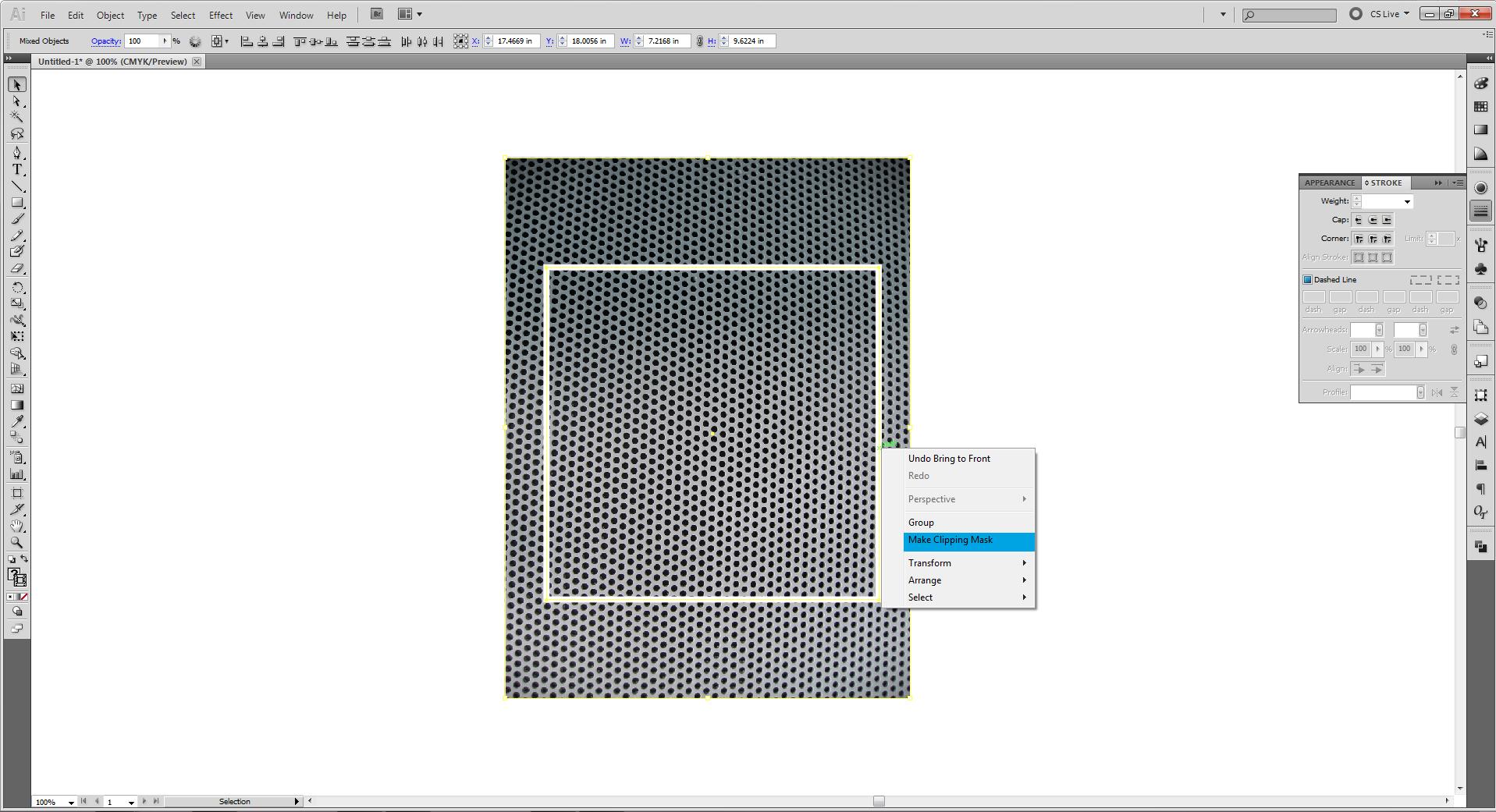 Редактирование и перерисовка контуров в Illustrator 34