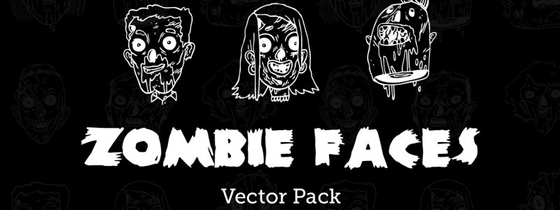 Zombie-Faces-Vector-Pack-Zine-Hero-Image