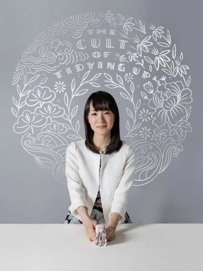"Tokyo, February 21 2015 - Portrait of Marie Kondo, author of the best-seller ""The Life-Changing Magic of Tidying Up"" and tidiness expert. CREDIT: Jeremie Souteyrat for The Wall Street Journal. Published Credit: Jeremie Souteyrat for The Wall Street Journal"