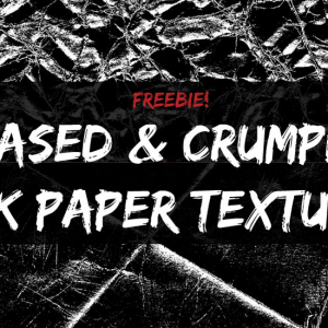 Free Crumpled Paper Textures