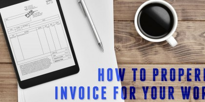 Invoicing Clients Graphic Design