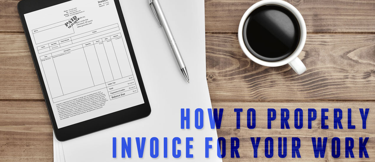 Invoicing Clients Graphic Design  Graphic Design Invoices