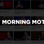 Monday Morning Motivation: Talks that inspire us the most