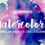 Grab our 30+ Dynamic Watercolor Elements + Free Watercolor Wash Sample