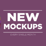 New Mockups Released Every Single Month on Mockup Everything