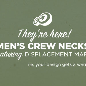 Men's Crew Neck PSD Mockups