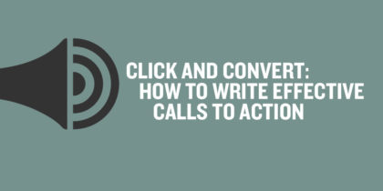 how to write a call to action