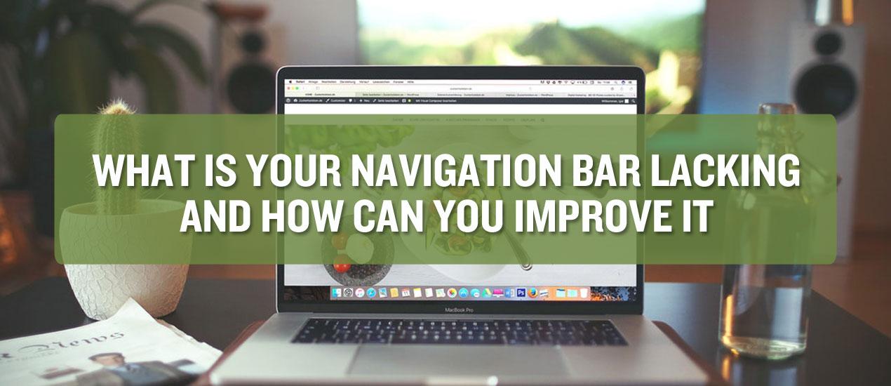 Improving Navigation Bar