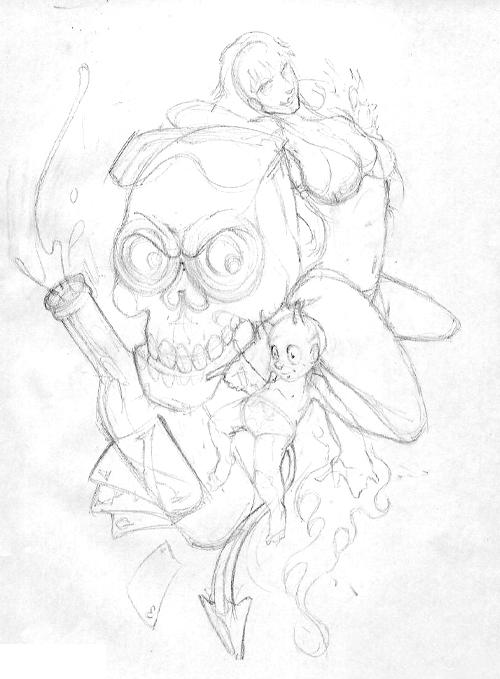 Dave's Rough Sketch