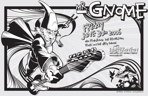 Mr Gnome Poster