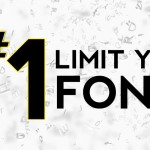 Become a Master Designer: Rule One: Limit your fonts
