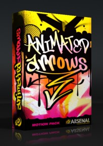 Animated Arrows Motion Pack Box