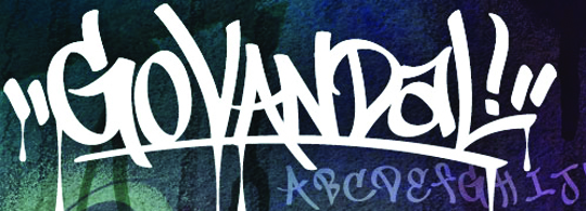 Go Media Font Vandal Graffiti
