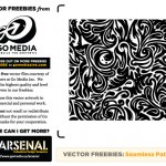 Vector Freebie & Micro Tutorial: Seamless Swirls