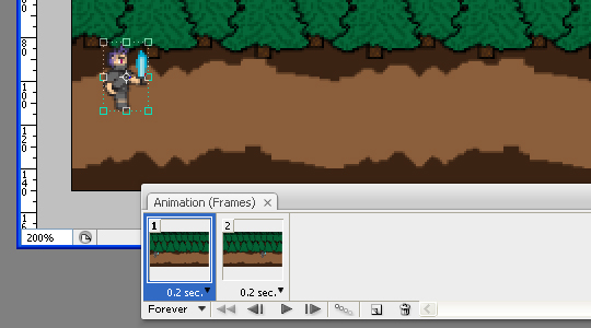 animation window
