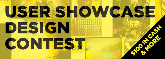 user showcase contest