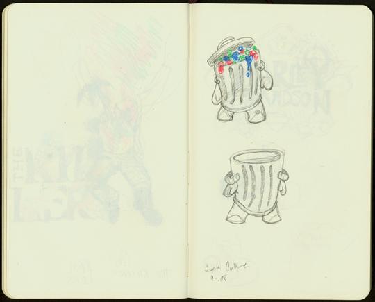 junk sketch
