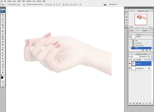 how to draw a hand 1