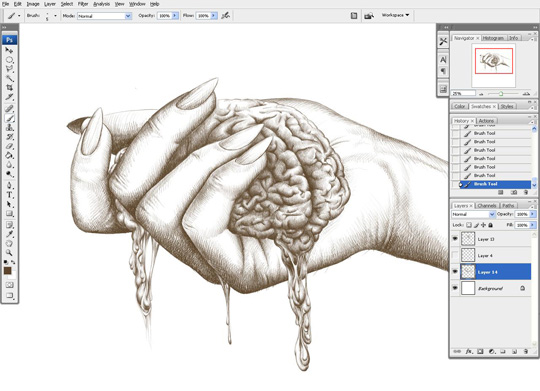 how to draw a hand 11