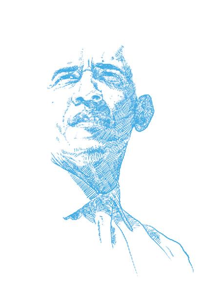 Barack Obama portrait deck by Oliver Barrett of Go Media