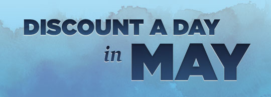 Discount a Day in May