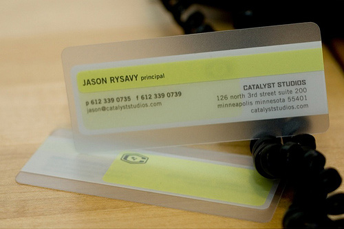 15 Over The Top Business Card Designs