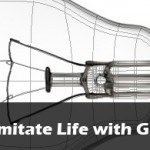 Vectors Imitate Life with Gradient Mesh