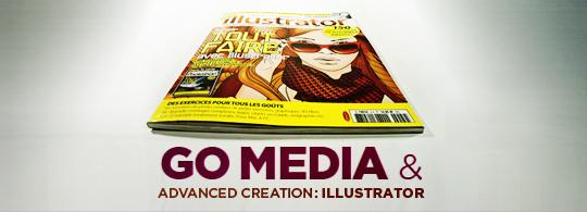 advanced creation illustrator go media