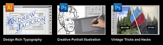Andrew Jackson tutorial features