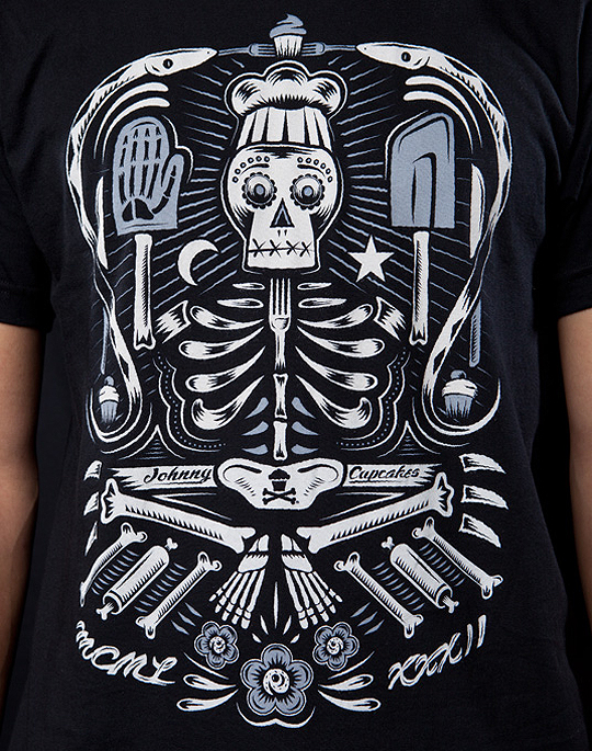 Johnny Cupcakes - Voodoo cook