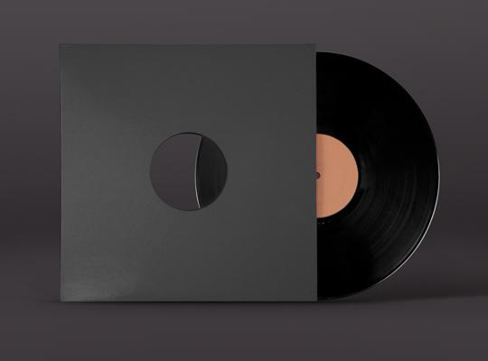 vinyl record mockup template