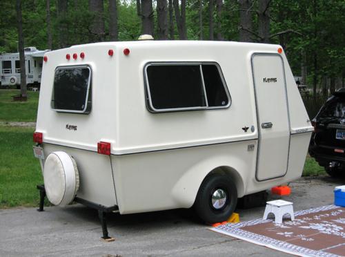 Dan Cassaro's camper