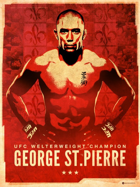 George St. Pierre by Mat MacQuarrie