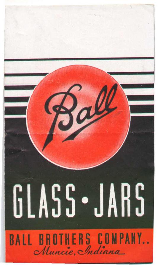 Ball - Glass jars - Vintage ad